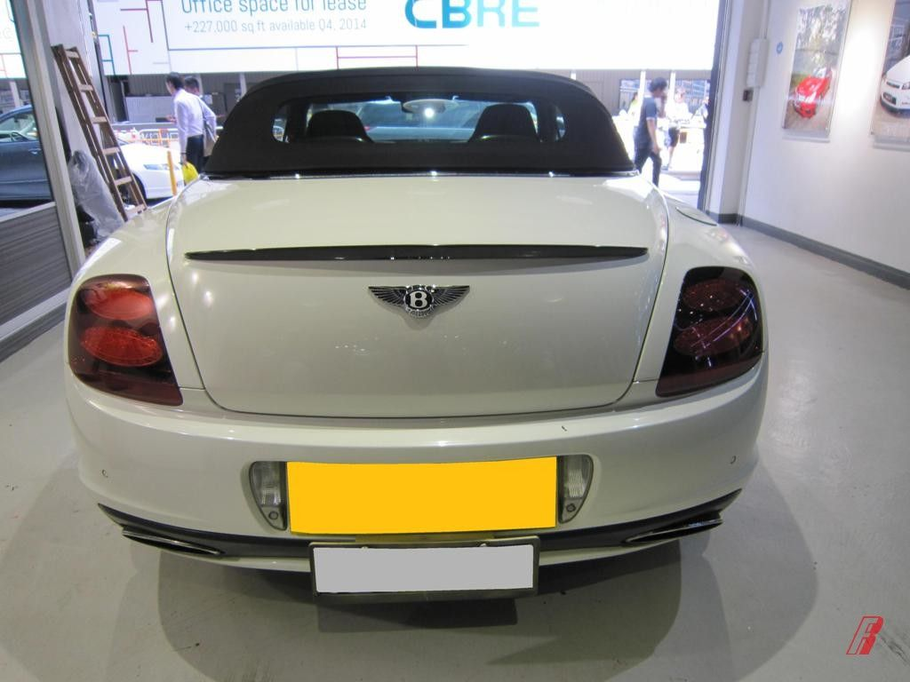Bentley 2011 Continental Supersports Convertible carbon fiber tail spoiler