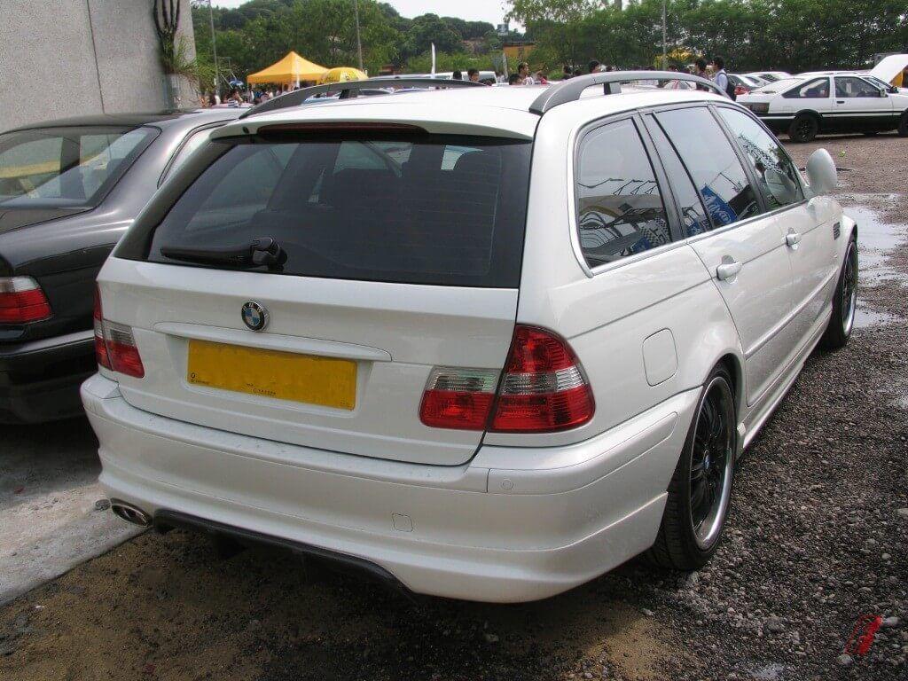 Bmw 1999 E46 Wagon T002l Rear Spoiler Lip