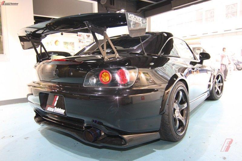 Honda 2000-05 S2000 AP1 AP2 VT003 carbon fiber GT rear wing spoiler