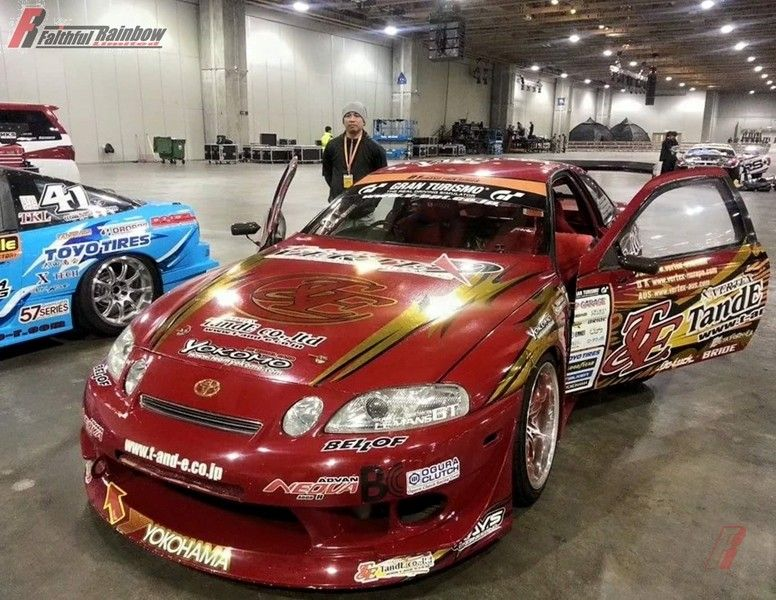 Toyota 1997 Soarer K style wide body kit – Faithful Rainbow