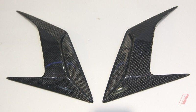 Exterior Parts Carbon Fiber Rear Fender Intake Scoop Trim Cover For Lamborghini Huracan Lp610-4 Auto Replacement Parts