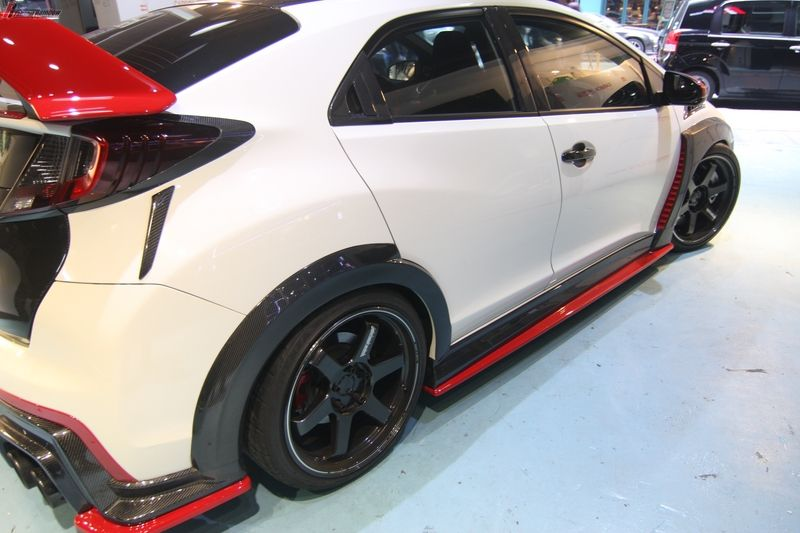 Real Carbon Fiber rear fender trim fit Honda 2015 Civic ...